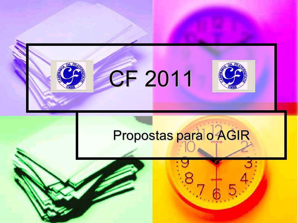 CF 2011 Propostas para o AGIR