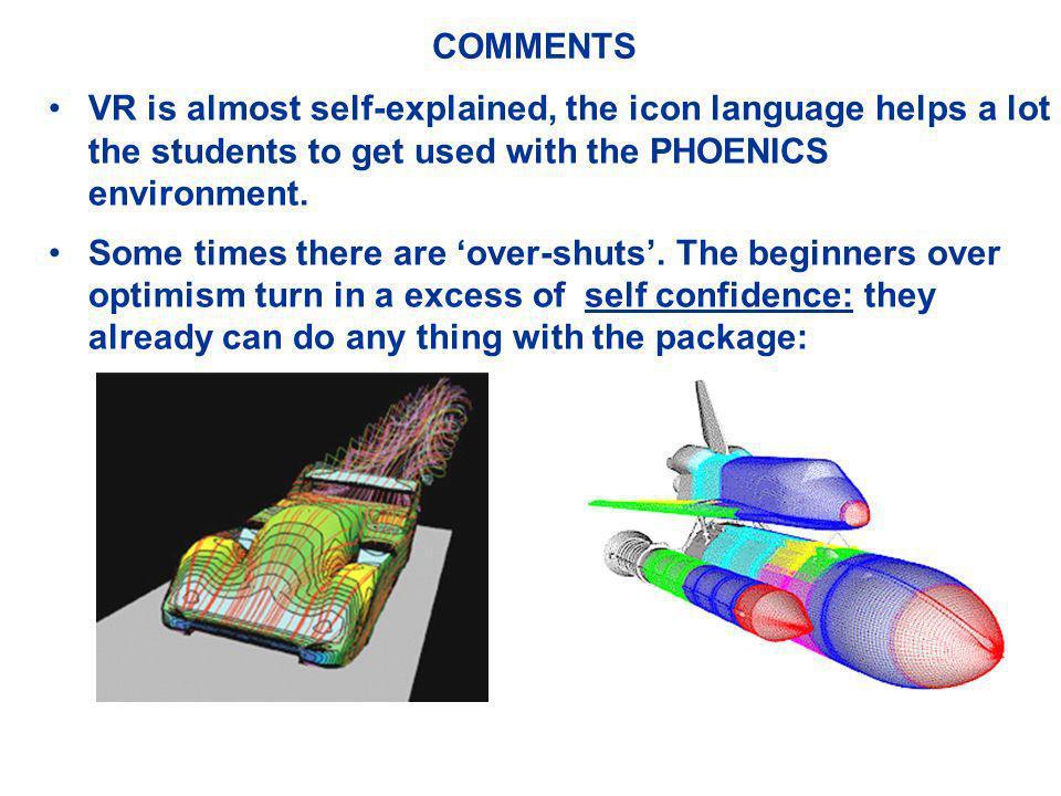 OBJETIVOS DO CURSO Dar uma introdução à Mecânica dos Fluidos Computacional por meio da utilização do pacote comercial PHOENICS, através disto o curso pretende: Familiarizar o aluno no PHOENICS dando capacidade de formular problemas simples; Introduzir conceitos básicos de métodos numéricos; Rever alguns conceitos básicos de mecânica dos fluidos e transferência de calor; Apresentar a linguagem FORTRAN; CONCLUINDO: este curso não é o fim mas o começo para quem pretende ser introduzido numa área nova e com grande demanda de pessoas.