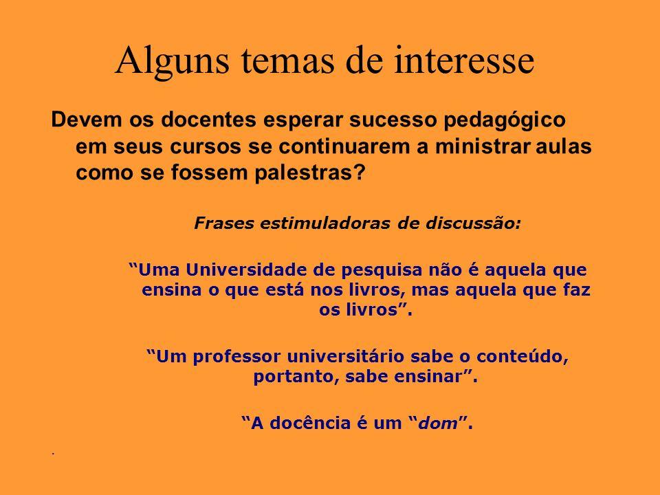 Docência no ensino superior Como é a preparação pedagógica para docentes da USP.
