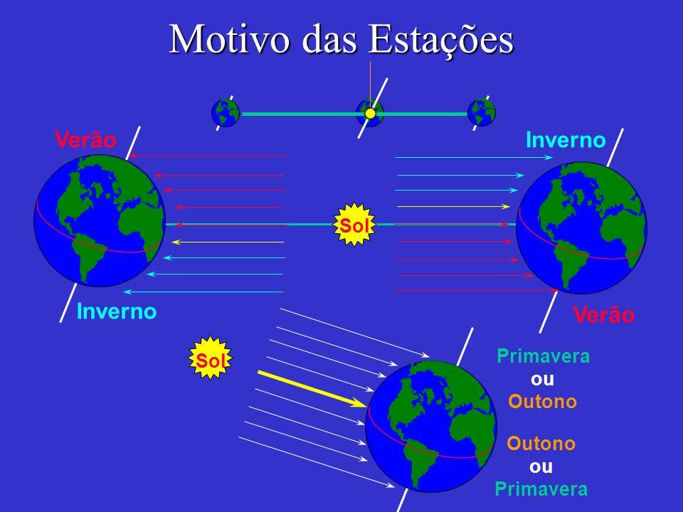 Motivo das Estações Sol Verão Inverno Primavera ou Outono ou Primavera