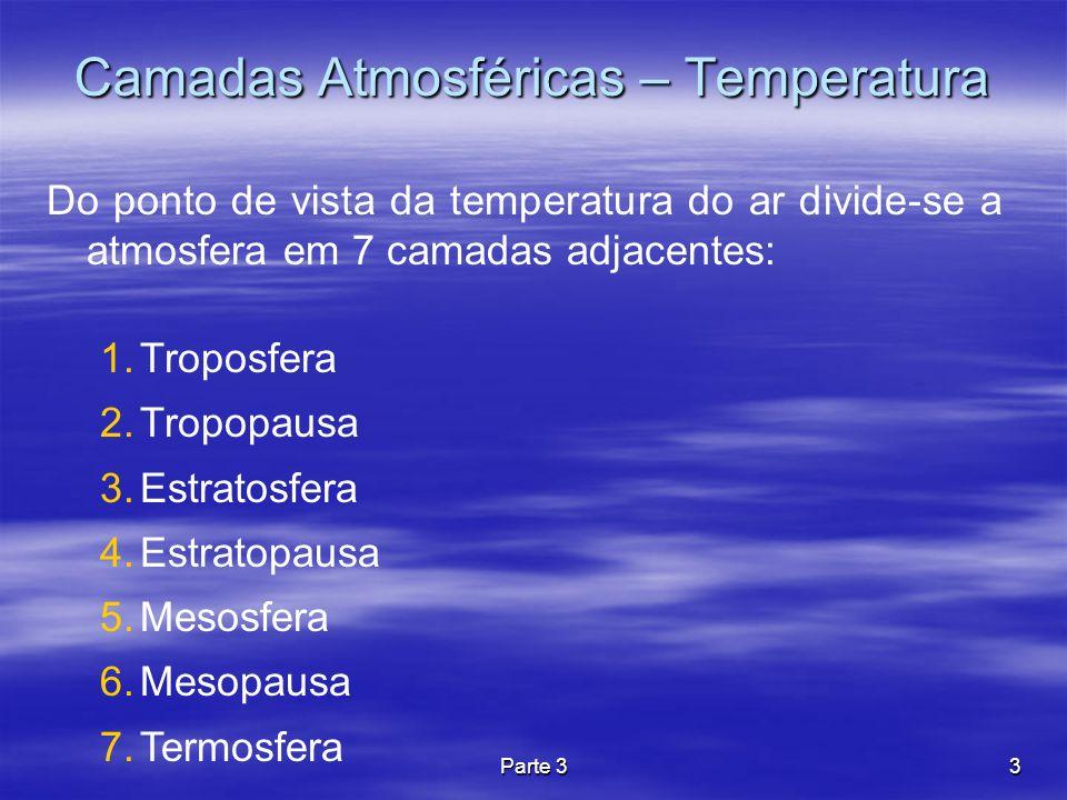 Parte 334 Estabilidade Térmica T(0) Temperatura (T) Altura (z) Observação