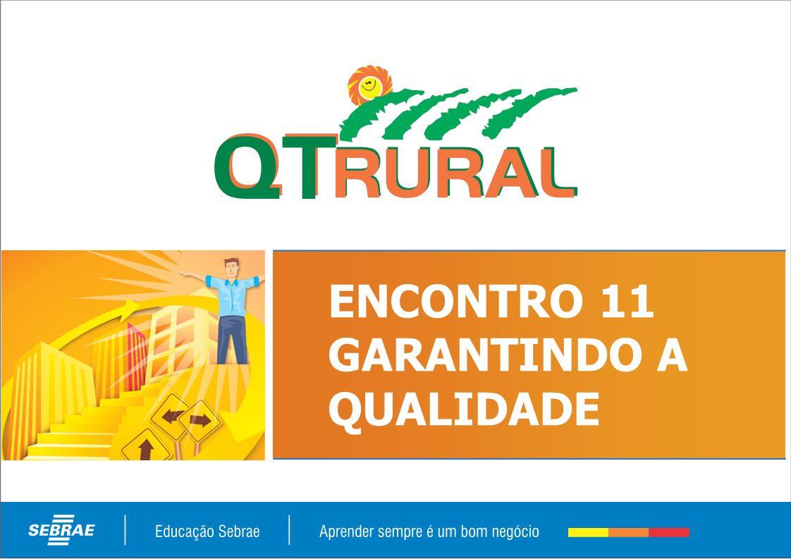 PROGRAMA SEBRAE DA QUALIDADE TOTAL RURAL – FASE 2 – GESTÃO DA QUALIDADE RURAL S1E11 COMPETÊNCIA Dimensionar as mudanças na empresa rural decorrentes da implantação da Gestão da Qualidade Rural.