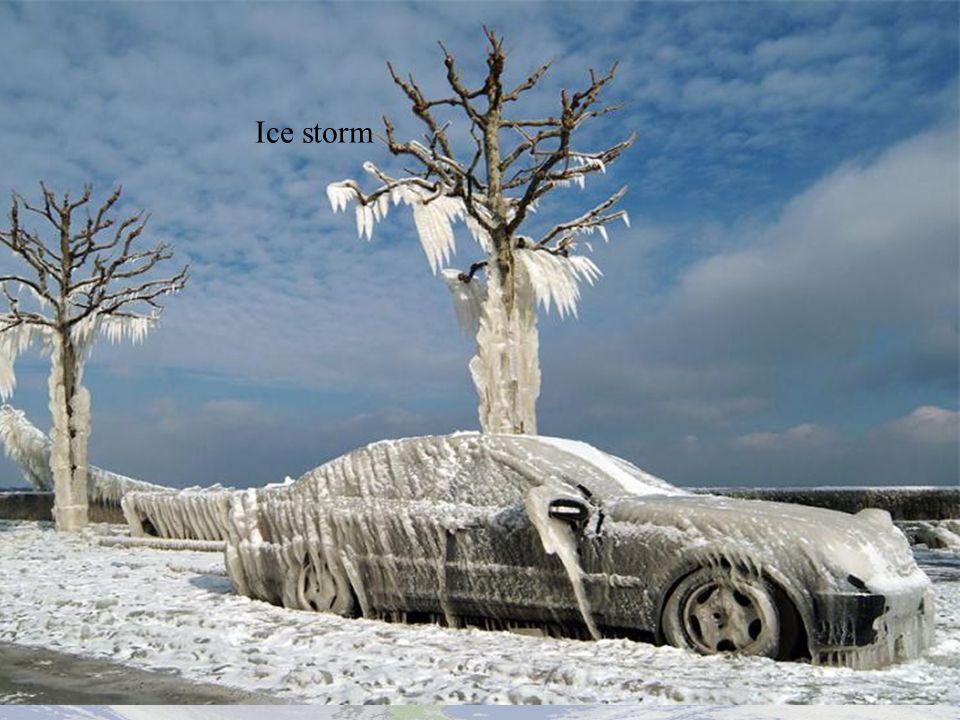 Ice storm