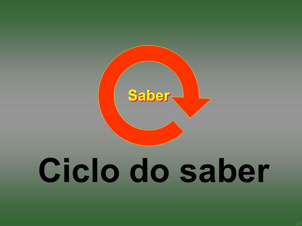 107 Ciclo do saber Saber