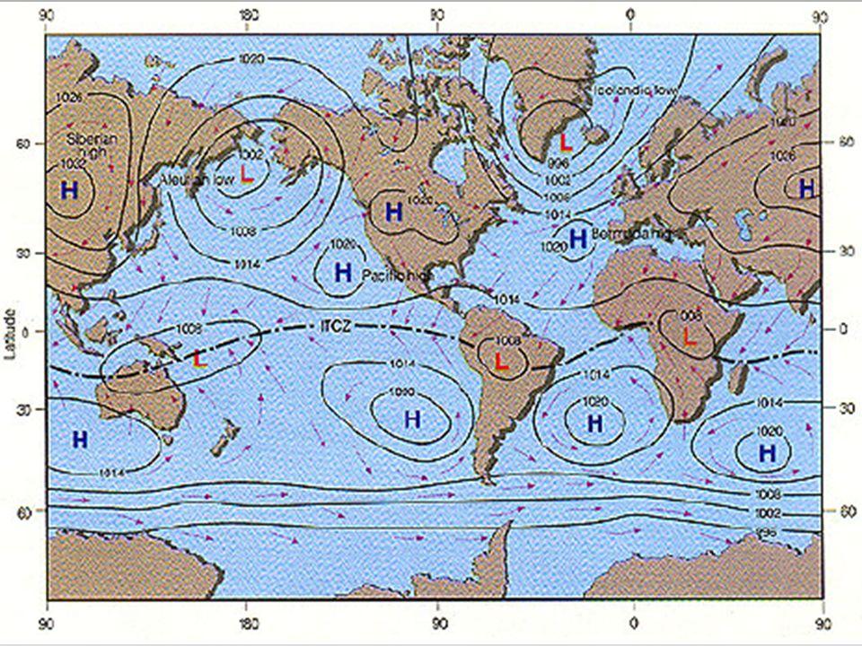 Estrutura da atmosfera Padrões típicos de superfície Campos médios de temperatura, pressão e vento Julho