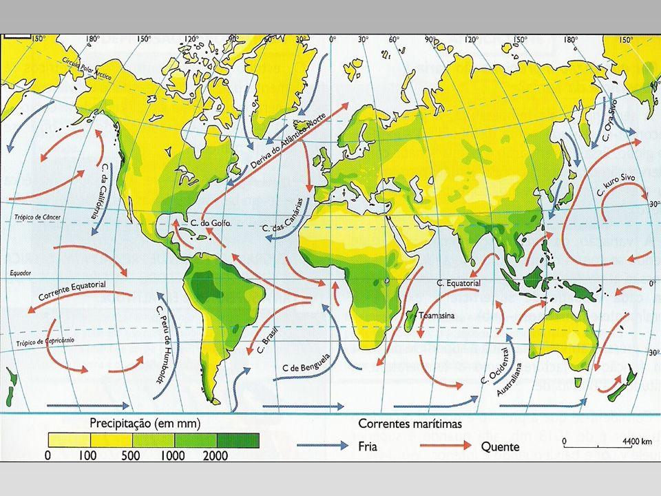 Estrutura da atmosfera Padrões típicos de altitude Presença de estruturas do tipo jatos (núcleos de máxima intensidade)