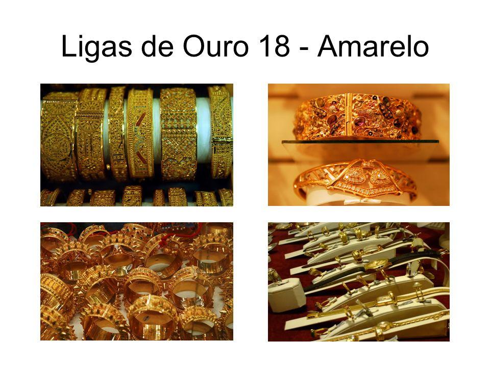 Ligas de Ouro 18 - Amarelo