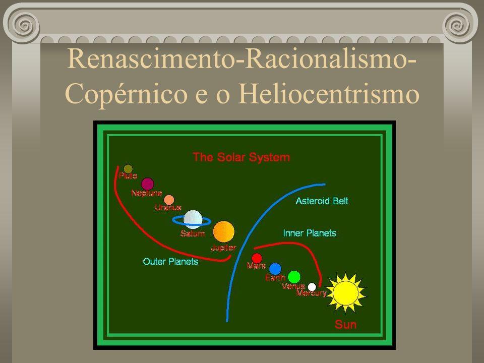 Renascimento-Racionalismo- Copérnico e o Heliocentrismo