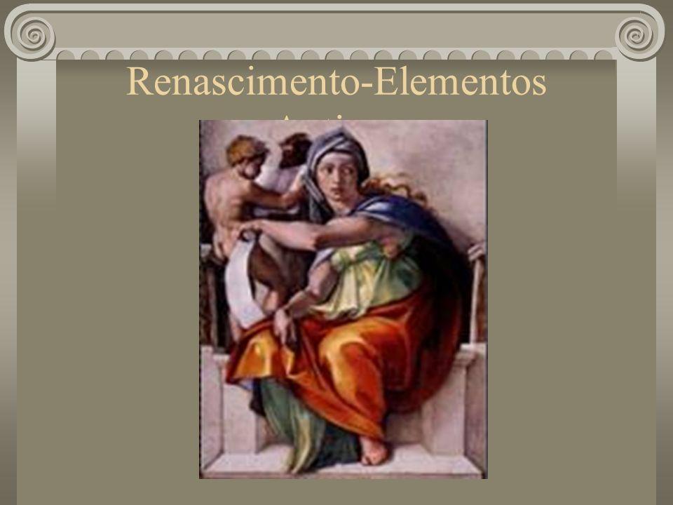 Renascimento-Elementos Antigos
