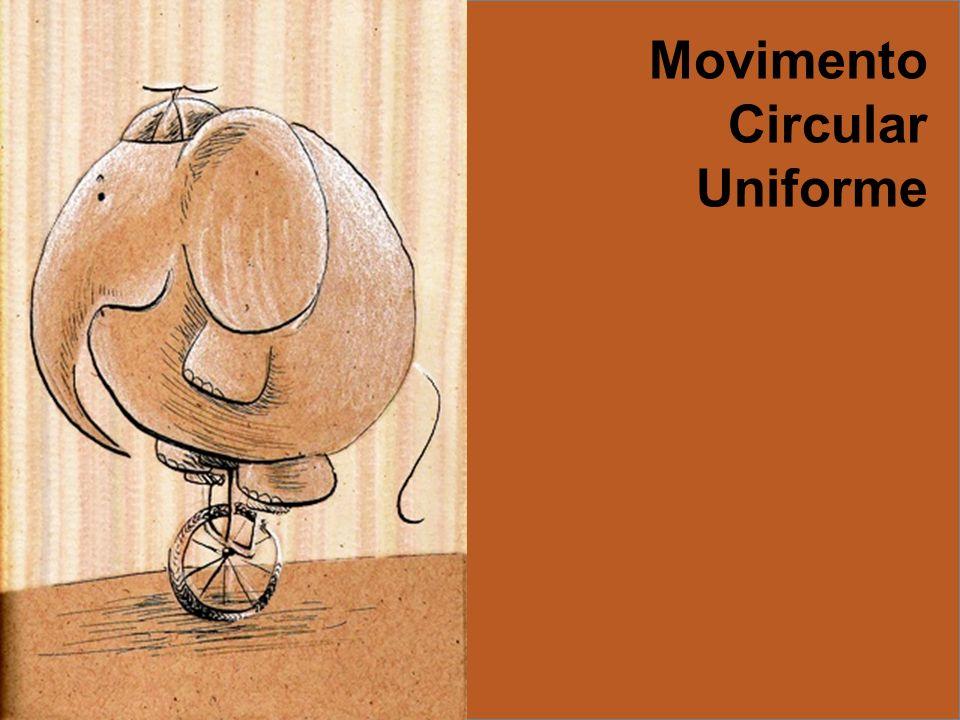 12 Relação entre V e a) 60 b) 50 c) 40 d) 30 e) 20 Exemplo ( PUC-RIO) Um ciclista pedala em uma trajetória circular de raio R = 5 m, com a velocidade de translação v = 150 m/min.