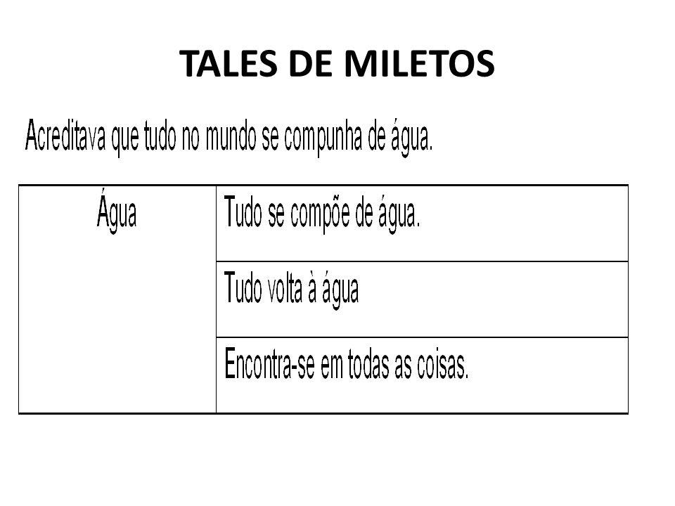 TALES DE MILETOS
