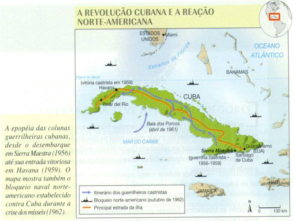 A CONSOLIDAÇÃO DA REVOLUÇÃO: Em 1961 Fidel declara que a Revolução é socialista.