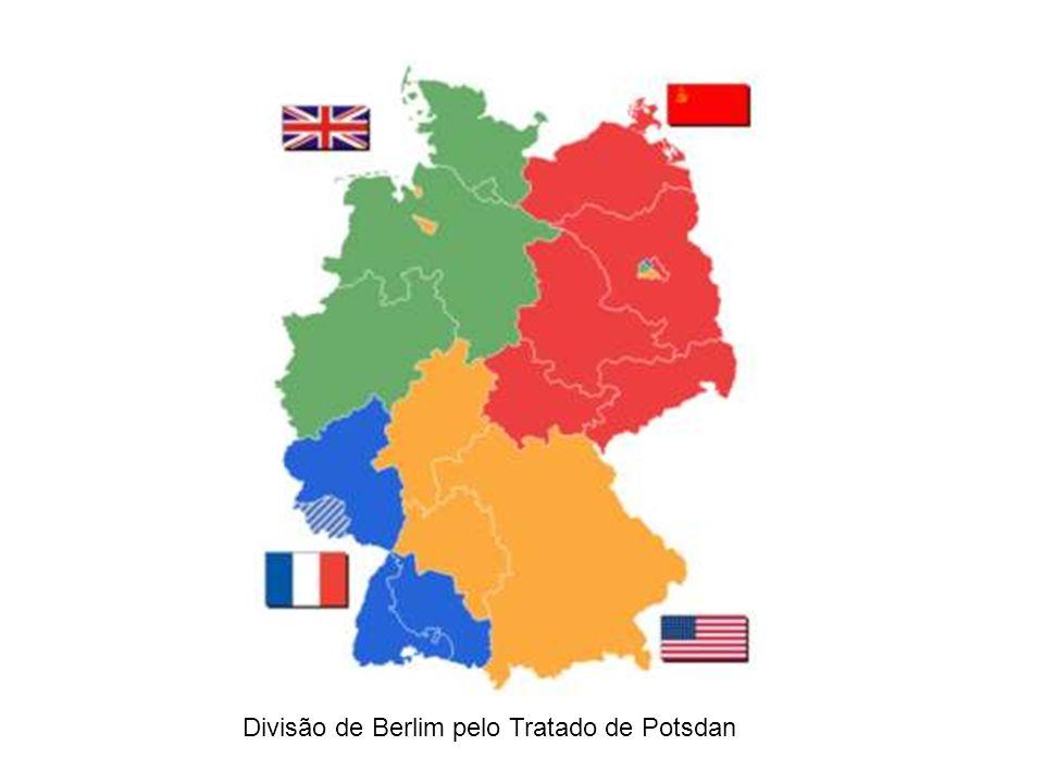 Divisão de Berlim pelo Tratado de Potsdan