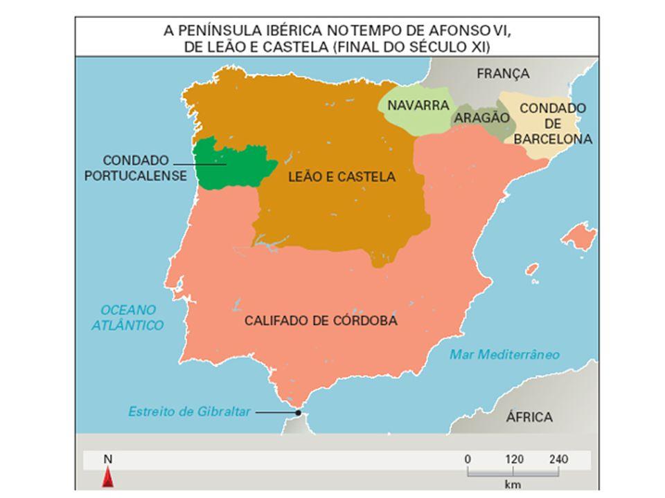 FORMAÇÃO DE PORTUGAL REINOS IBÉRICOS COM AFONSO VI SÉC. XI ESPÍRITO CRUZADISTA x MUÇULMANOS HENRIQUE DE BORGONHA = CONDADO PORTUCALENSE DINASTIA DE BO