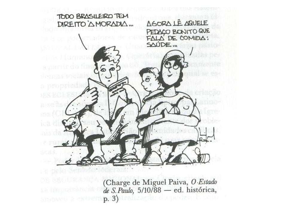 BRASIL NEOLIBERAL ESTADO MÍNIMO NA ECONOMIA = PRIVATIZAÇÕES (-) BEM ESTAR = (+) EXCLUSÃO SOCIAL = RESULTADO (?) PIB MODELO VARGUISTA (década 80) = 3,2% PIB MODELO NEOLIBERAL (década 90) = 2,7% GOVERNO COLLOR CONSERVADOR = ESCOLHIDO PELA ELITE VENCE LULA NO 2o.