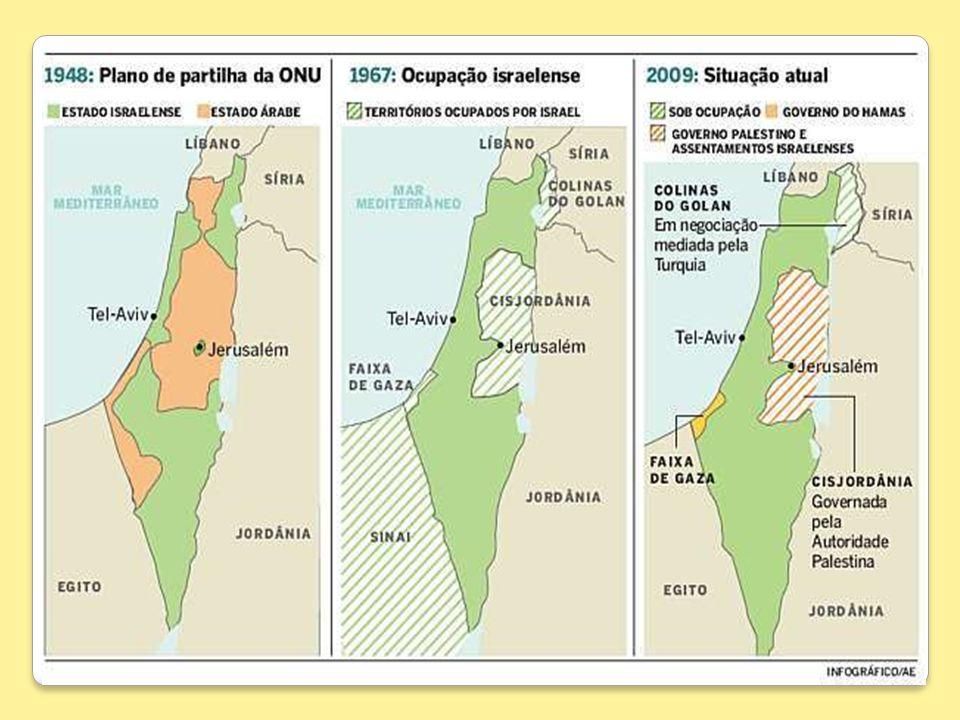 1982 – Reconhecimento pelo Egito do Estado de Israel (devolução da Península do Sinai).