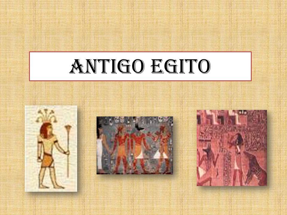 As cheias do Nilo tornaram possível a vida no deserto e deram origem ao EGITO