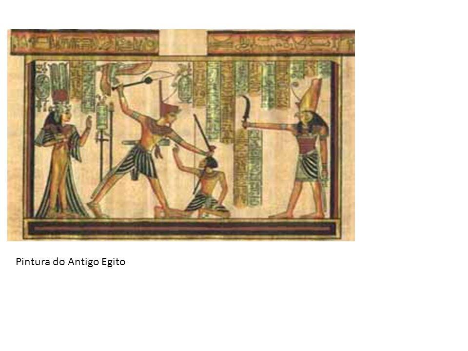 Pedra de Roseta - 1822 Três formas de escrita: Grega – Mais conhecida Hieroglifica – sinais figurativos Demótica – escrita egípcia de uso comum
