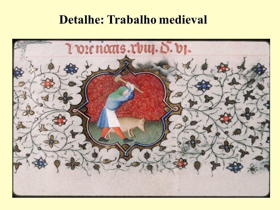 Detalhe: Trabalho medieval