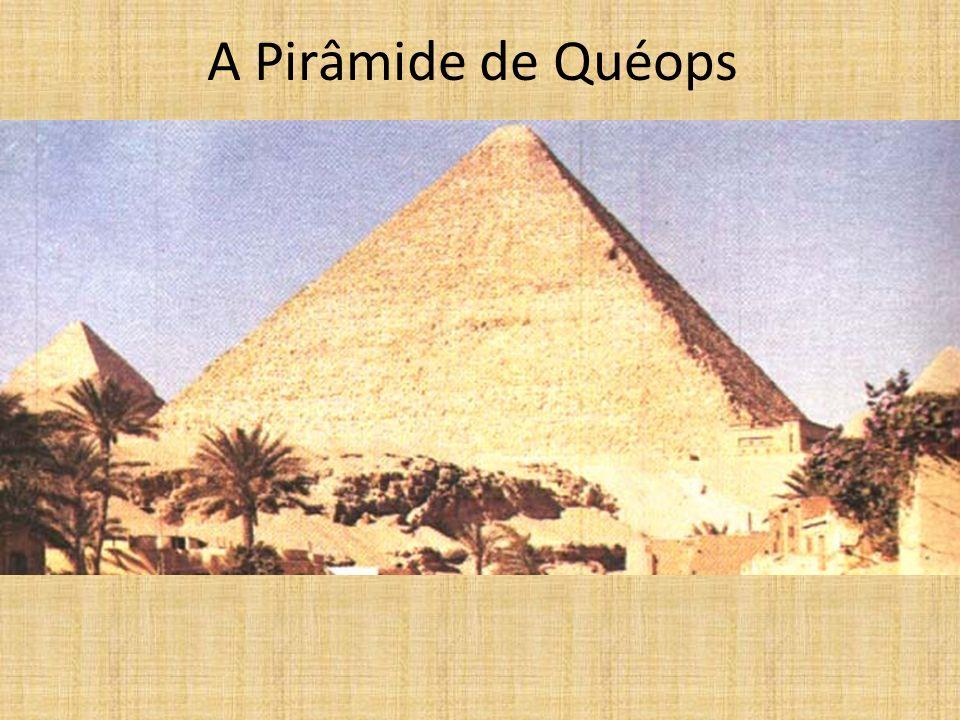 A Pirâmide de Quéops