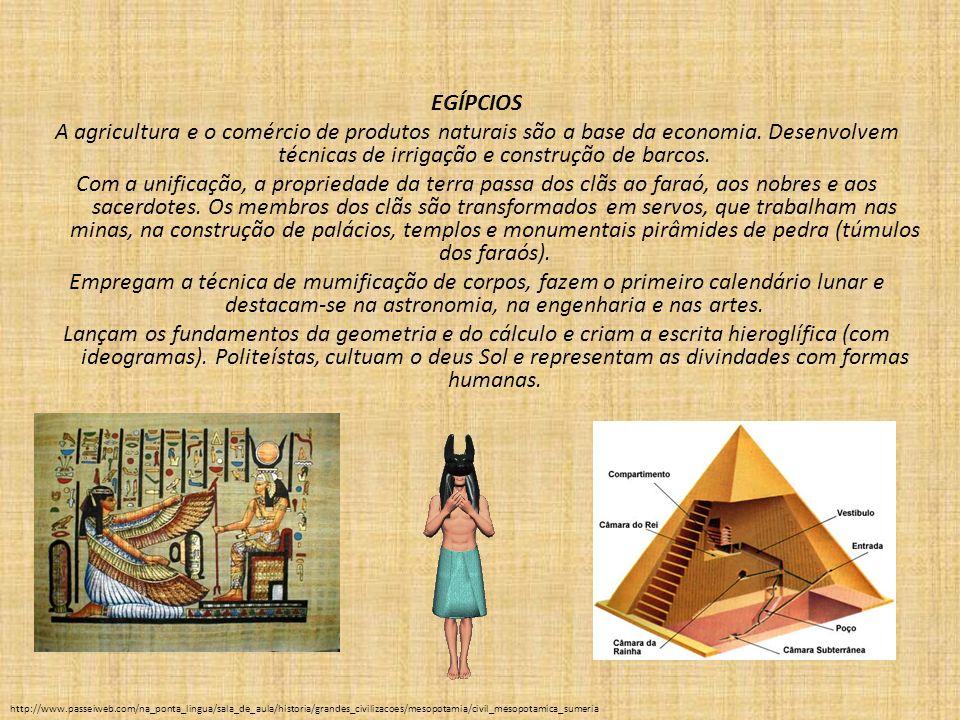 A construção das Pirâmides A construção das pirâmides até hoje exerce fascínio na humanidade.