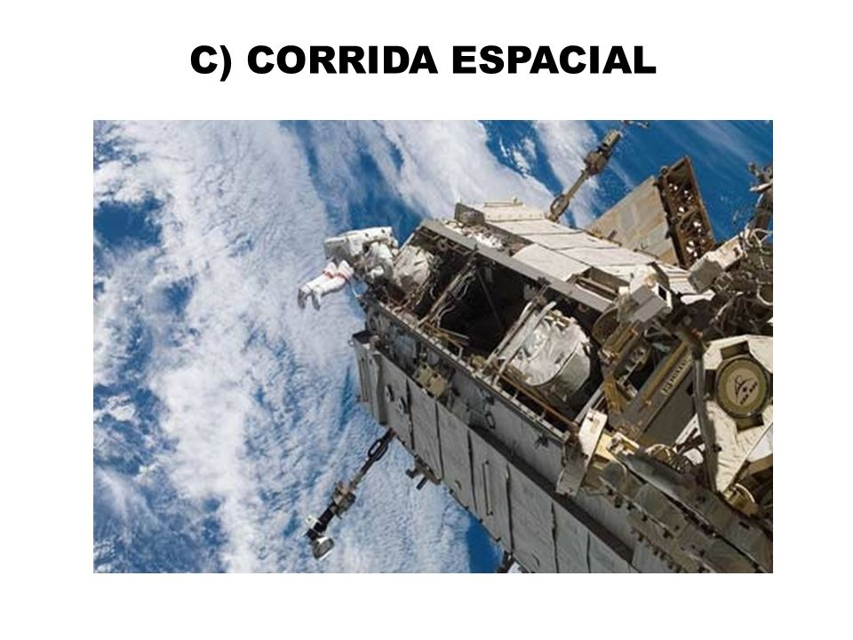 C) CORRIDA ESPACIAL