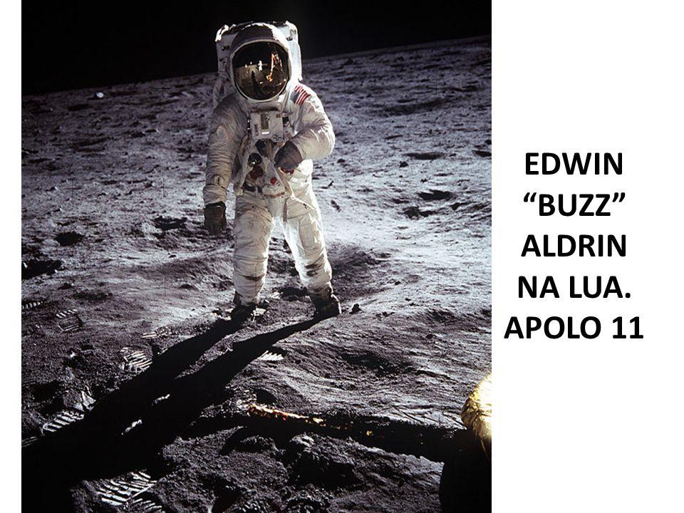 EDWIN BUZZ ALDRIN NA LUA. APOLO 11