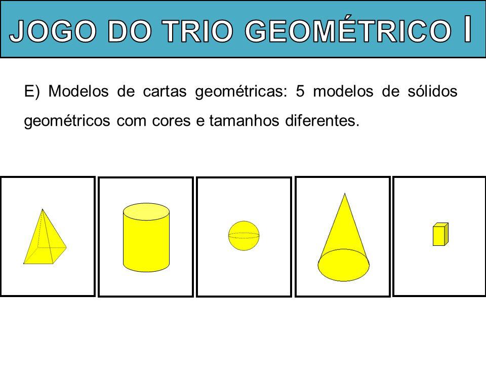 Alguns processos e procedimentos matemáticos pertinentes a atividade: Pensamento lógico; Diferentes modos de resolução; Argumentação; Expressão oral matemática.