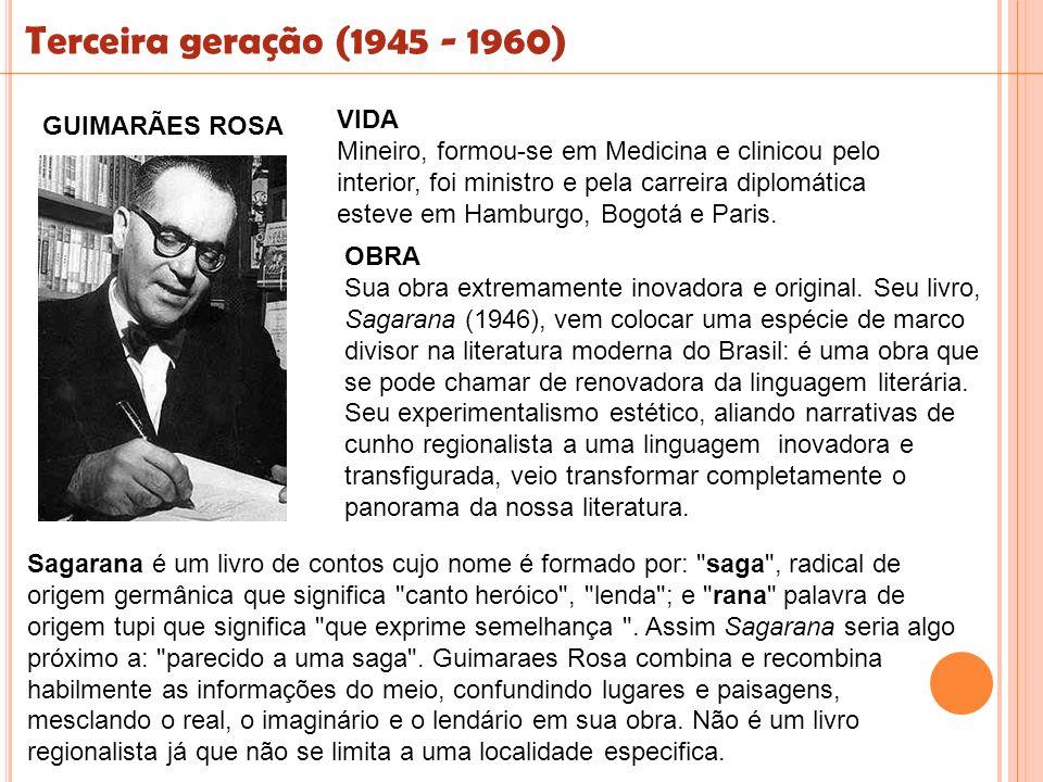 VIDA Mineiro, formou-se em Medicina e clinicou pelo interior, foi ministro e pela carreira diplomática esteve em Hamburgo, Bogotá e Paris. Sagarana é