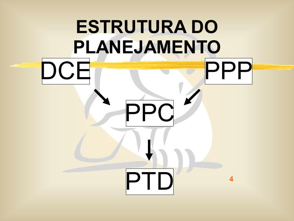 4 ESTRUTURA DO PLANEJAMENTO DCEPPP PPC PTD