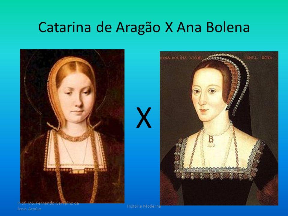 Catarina de Aragão X Ana Bolena X Prof. MS. Fernando Carvalho de Assis Araújo História Moderna