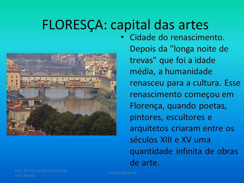 FLORESÇA: capital das artes Cidade do renascimento. Depois da