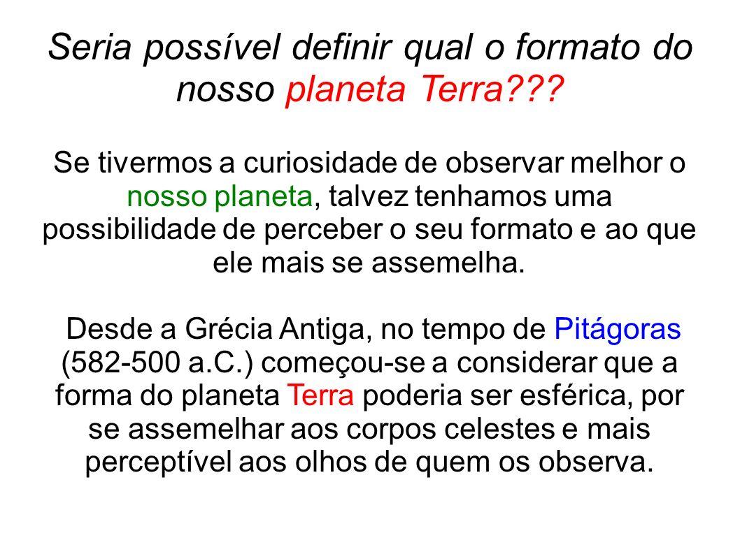 Nesse sentido, o Planeta Terra que é representado por um modelo, oglobo terrestre poderia ser considerado então uma esfera?