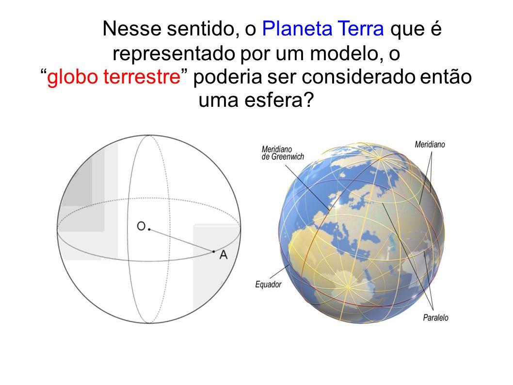 A circunferência polar é igual a circunferência do meridiano e mede, aproximadamente 39 942 km.