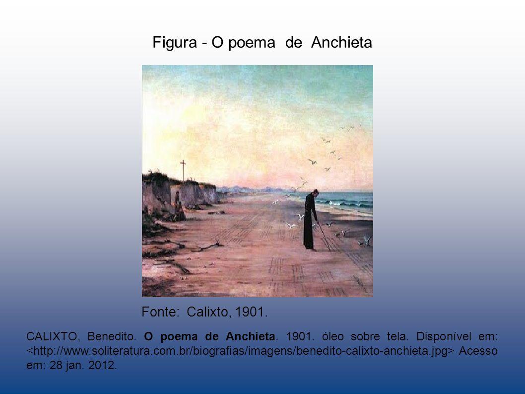 Figura - O poema de Anchieta Fonte: Calixto, 1901.