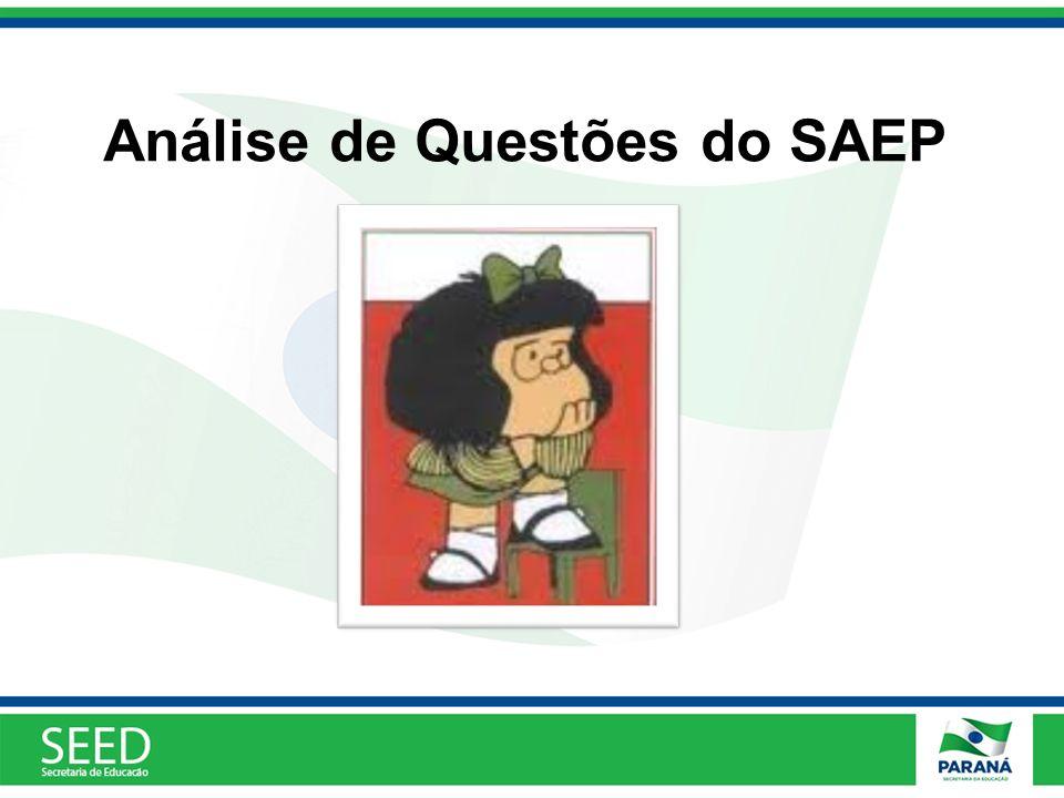 Análise de Questões do SAEP