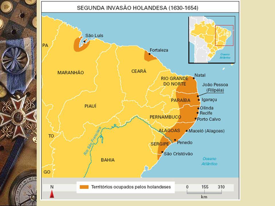 DECLÍNIO E EXPULSÃO PORTUGAL + HOLANDA X ESPANHA CONCESSÃO DO NORDESTE POR 10 ANOS REI D.