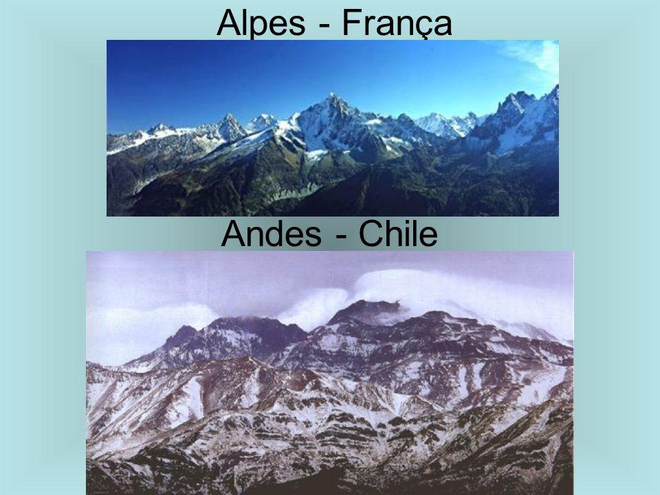 Alpes - França Andes - Chile