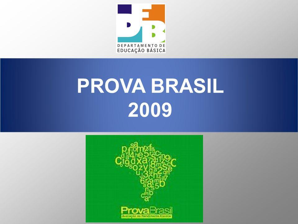 A Prova Brasil e o SAEB constituem a base para a definição do Índice de Desenvolvimento da Educação Básica (IDEB), desde o lançamento do Plano de Desenvolvimento da Educação (PDE), em abril de 2007.