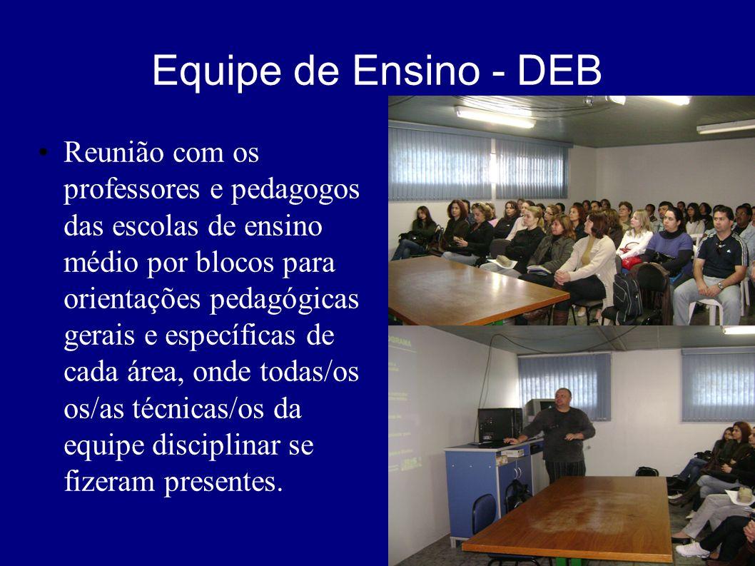Equipe de Ensino - PPA Reunião com coordenadores da EJA e PPA, secretários municipais, representantes do Conselho Municipal dos 14 municípios jurisdic