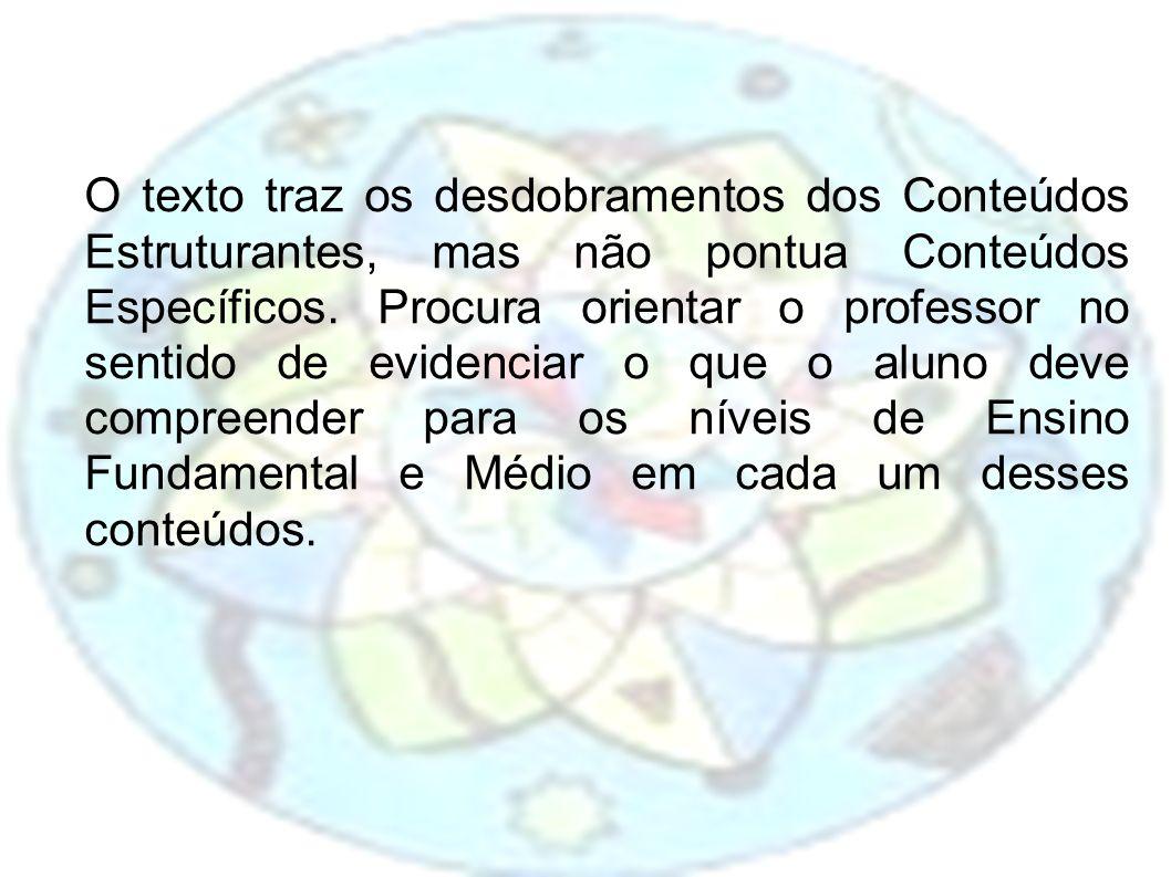 Considera-se que a avaliação deve acontecer ao longo do processo de ensino e aprendizagem, ancorada em encaminhamentos metodológicos que abram espaço para a interpretaçao e discussão, que considerem a relação do aluno com o conteúdo trabalhado, o significado desse conteúdo e a compreensão alcançada por ele.(DCE, 2008, p.69)