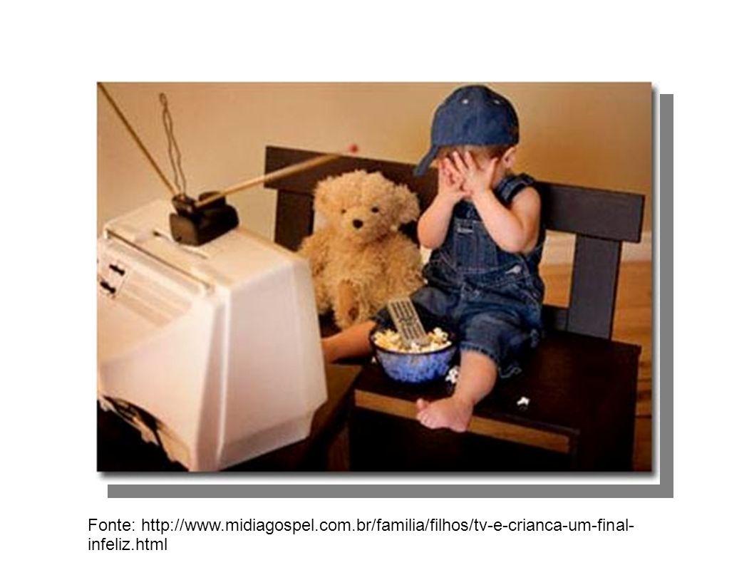 Fonte: http://www.midiagospel.com.br/familia/filhos/tv-e-crianca-um-final- infeliz.html