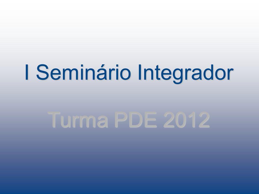 Coordenação PDE Cassiano Roberto Nascimento Ogliari Av.