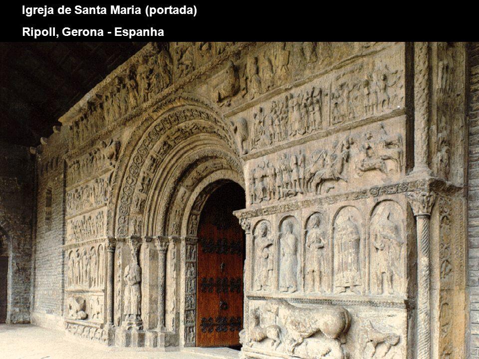 Igreja de Santa Maria (portada) Ripoll, Gerona - Espanha