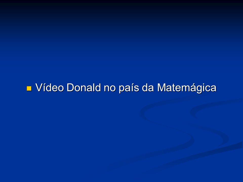 Vídeo Donald no país da Matemágica Vídeo Donald no país da Matemágica