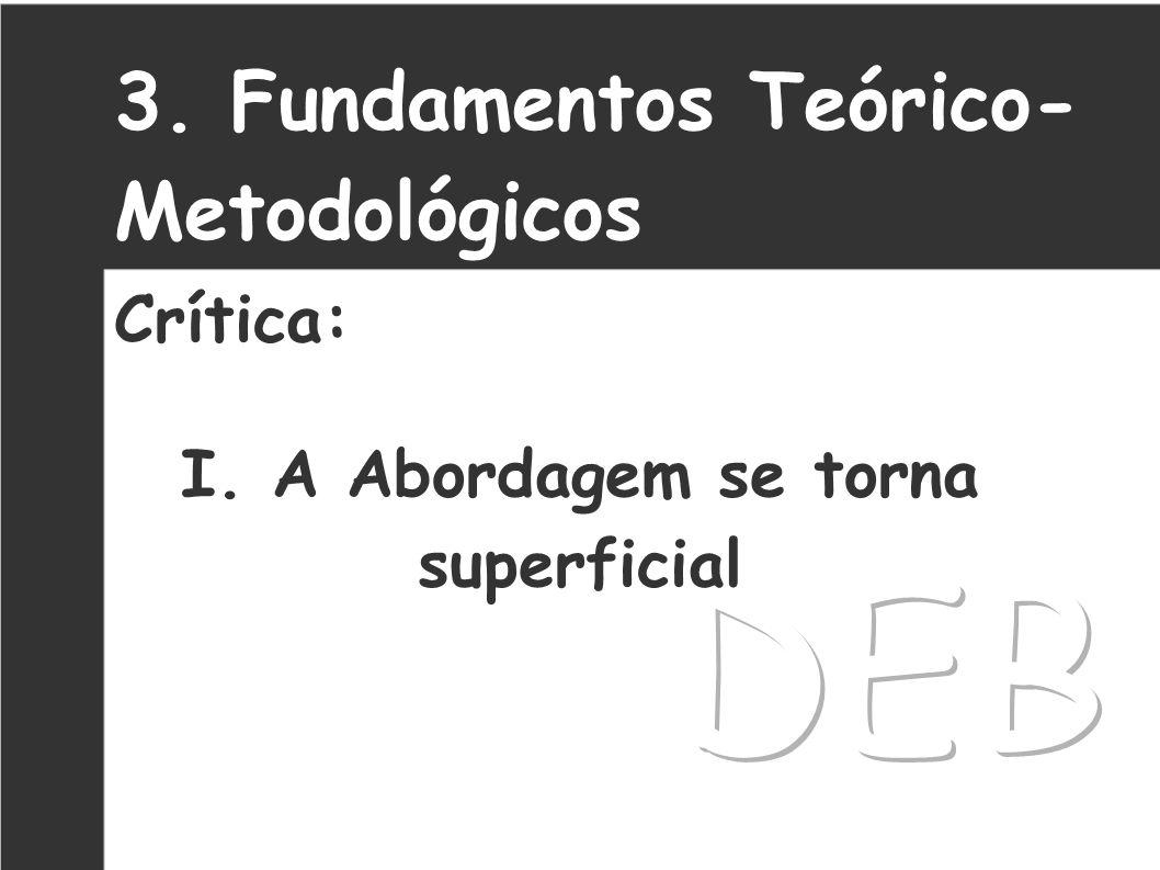 4.Fundamentos Teórico- Metodológicos Crítica: II.