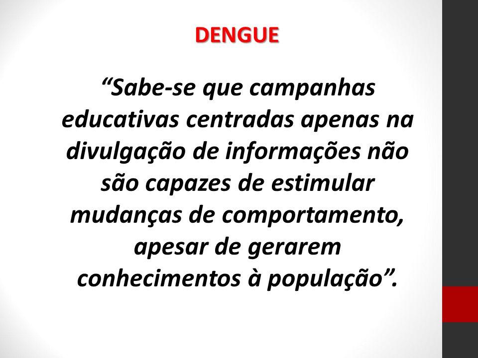 Para o pesquisador Teixeira (1999), a dengue é uma doença relacionada às condições sociais e econômicas das populações independente do seu grau de desenvolvimento.