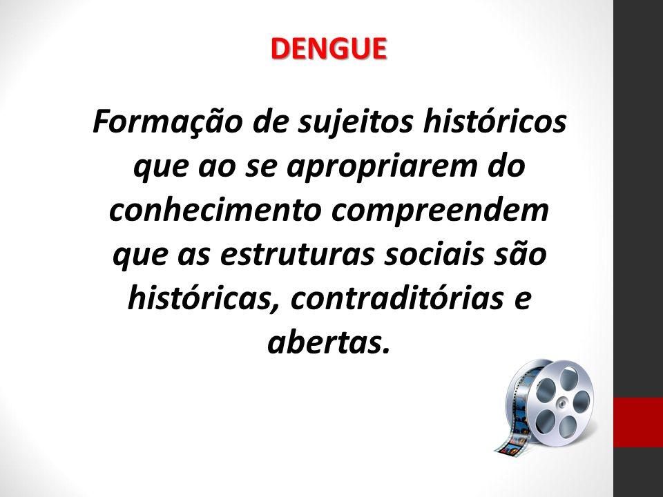 Formação de sujeitos históricos que ao se apropriarem do conhecimento compreendem que as estruturas sociais são históricas, contraditórias e abertas.