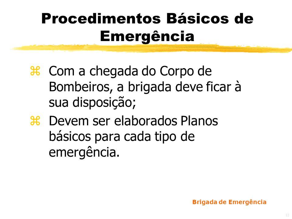Brigada de Emergência 13 Reuniões Ordinárias zDevem ser realizadas mensalmente: a)Funções de cada membro da brigada dentro do plano; b)Condições de uso dos equipamentos de combate a incêndio; c)Apresentação de problemas relacionados à prevenção de incêndios encontrados nas inspeções para que sejam feitas propostas corretivas;