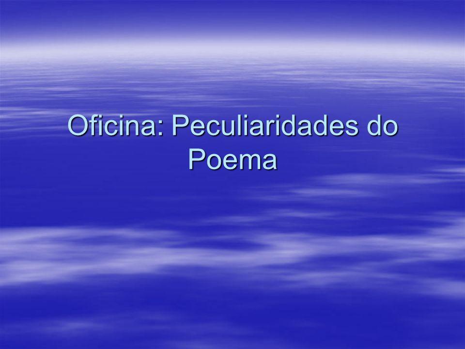 Há diferença entre poema e poesia.O poema é um texto marcado por recursos sonoros e rítmicos.